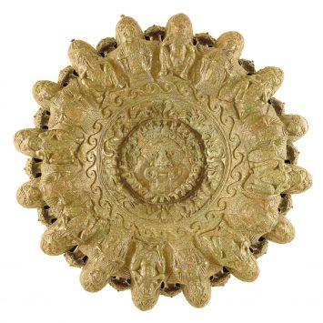 Lampadario Etrusco in bronzo