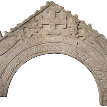 Arco di ciborio cuspidato