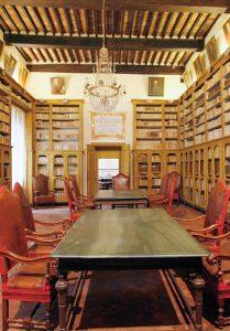 La biblioteca settecentesca