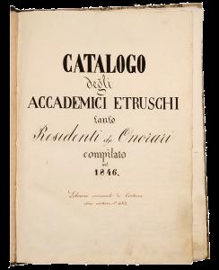 Accademia Etrusca di Cortona | Gli Accademici