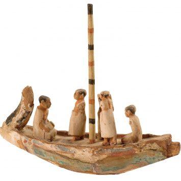 Barca funeraria egizia