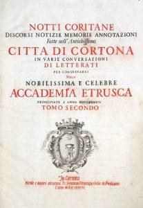 Accademia Etrusca di Cortona | Organizzazione