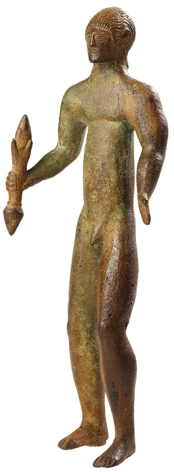 Statuetta in bronzo di Zeus